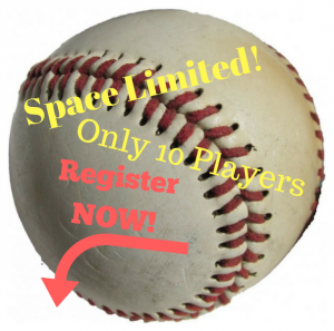 Space Limited to 10 Players!